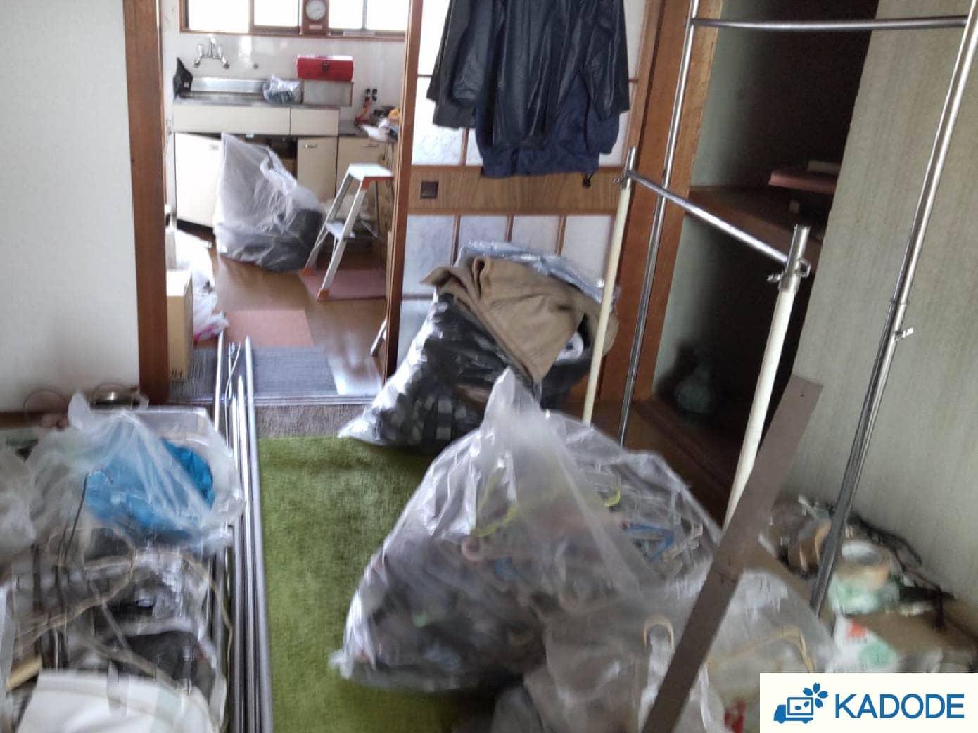 ゴミ屋敷 before②