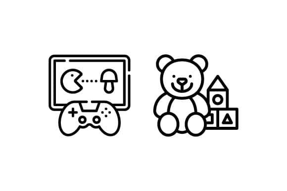 おもちゃ類のイメージ画像