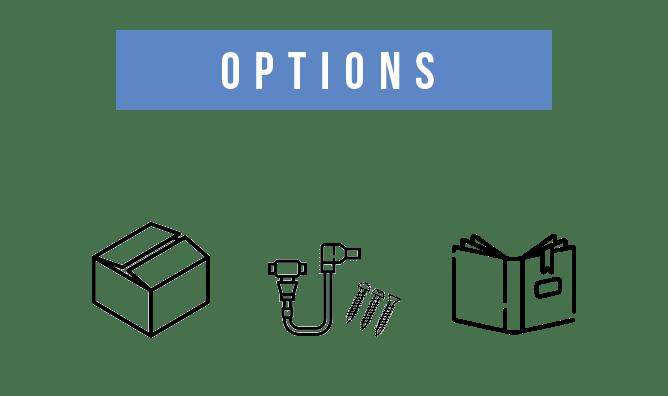 箱や説明書などの付属品
